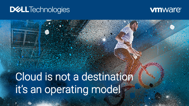 Cloud is not a destination - it's an operating model