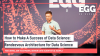 EGG On-Demand: How to Make A Success of Data Science: Rendezvous Architecture
