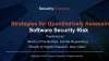 Strategies for Quantitatively Assessing Software Security Risk