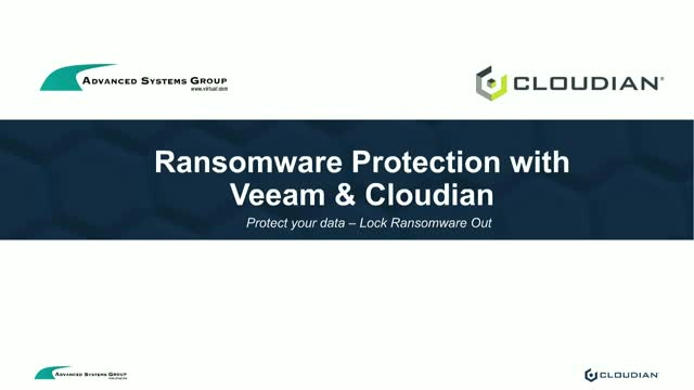WEBINAR: Tech and Takeout – How to Protect your Data from Ransomware