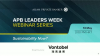 APB Leaders Week Webinar Series: Sustainability Now?