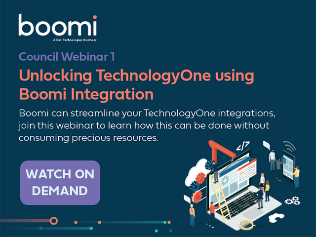 Local Council Webinar 1: Unlocking TechnologyOne using Boomi Integration
