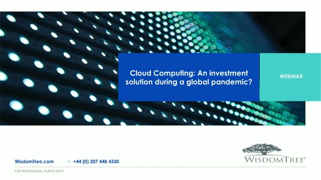 Cloud Computing: An investment solution during a global pandemic?