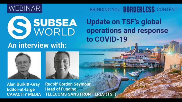 Interview with TSF on their Covid-19 Response and Global Operations