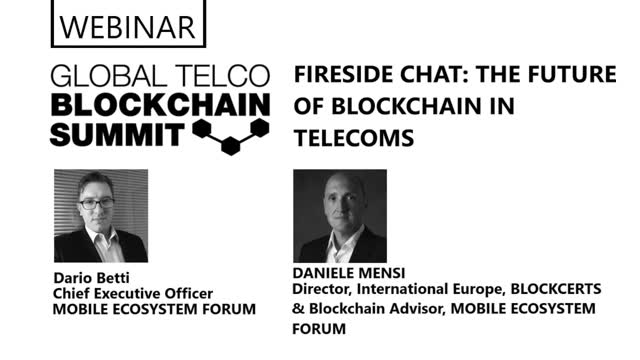 Fireside Chat: The Future of Blockchain in Telecoms