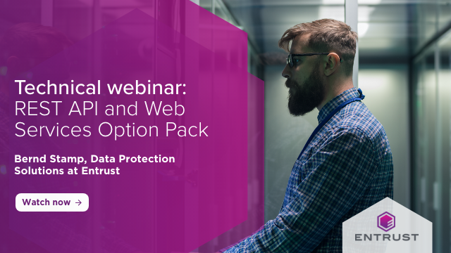 Technical webcast: REST API and Web services options pack