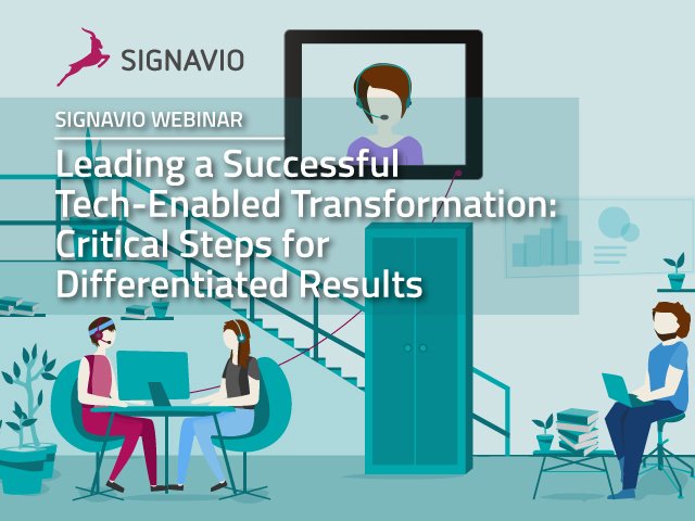 Leading a Successful Tech-Enabled Transformation: Critical Steps for Differentia