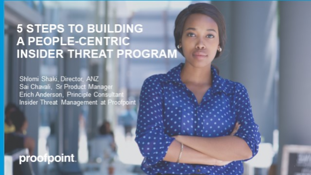 5 Steps to Building A People-Centric Insider Threat Program - APAC