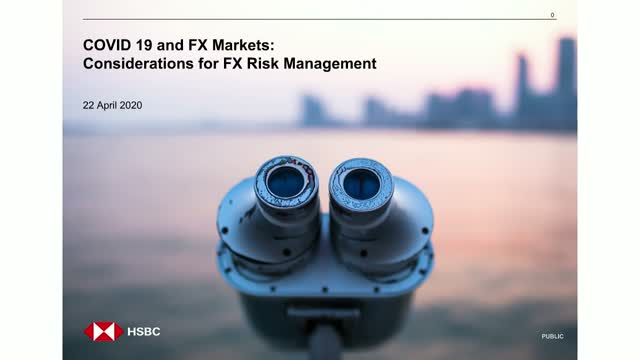COVID 19 and FX Markets - Considerations for financial risk management