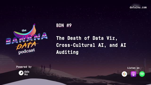 [SEASON 1 EP 9] The Death of Data Viz, Cross-cultural AI, and AI Auditing
