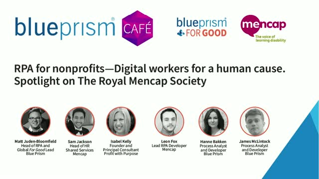 RPA for non-for-profits | Digital workers for a human cause | l Mencap Society