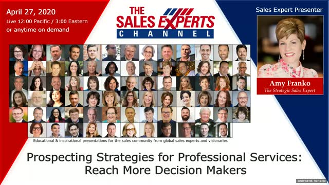 Prospecting Strategies for Professional Services: Reach More Decision Makers