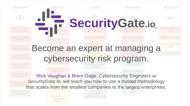 Become an expert at managing a cybersecurity risk program.