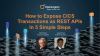 How to expose CICS transactions as REST APIs In 5 simple steps