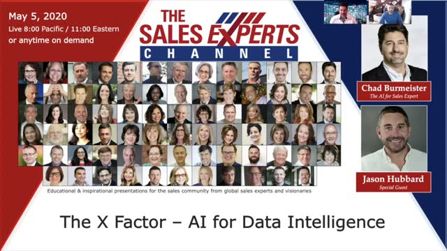 The X Factor, AI for Sales Intelligence