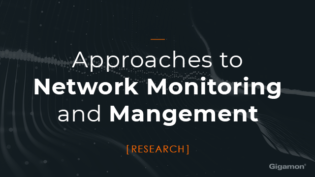 Approaches to Network Monitoring and Management