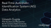 Real-time Automatic Identification System (AIS) Data Analytics
