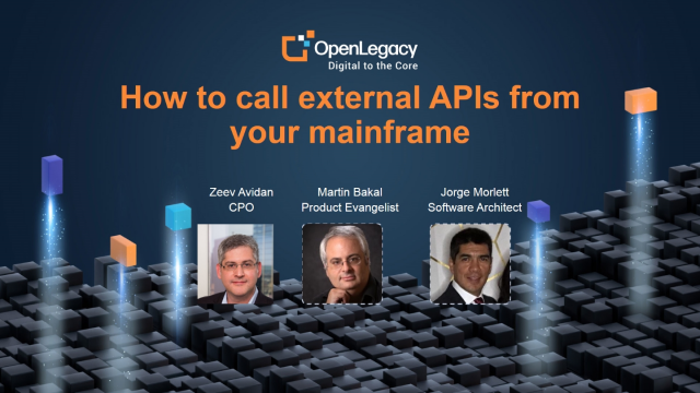 How to call external APIs from your mainframe