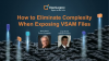 How to eliminate complexity when exposing VSAM files
