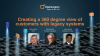 How to create a 360 degree view of your customers from multiple core systems
