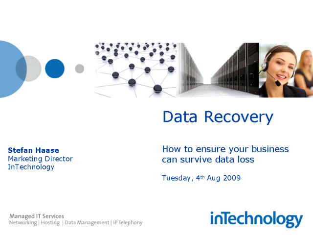 Data Recovery: How quickly can you recover your data?