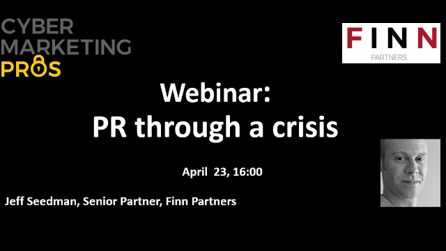 PR through a crisis