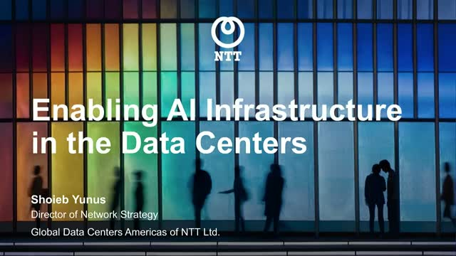 Enabling AI Infrastructure in Data Centers