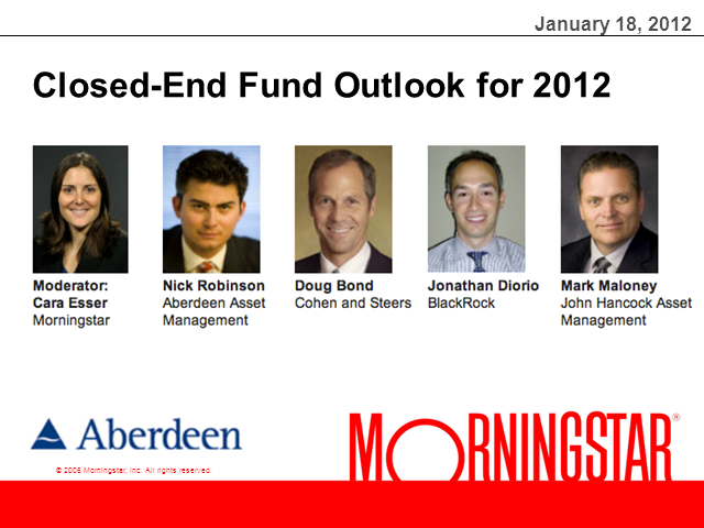Closed-End Fund Outlook for 2012