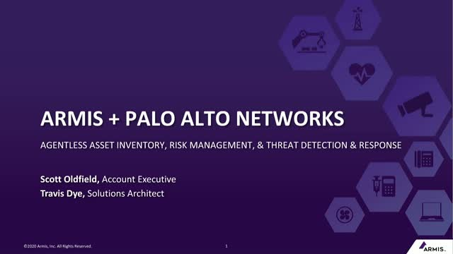 Agentless Device Security for Palo Alto Networks