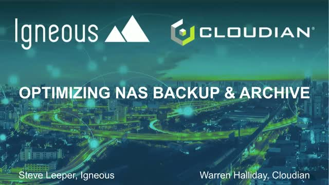 Be a Data Hero, Crush Storage Costs with Igneous and Cloudian