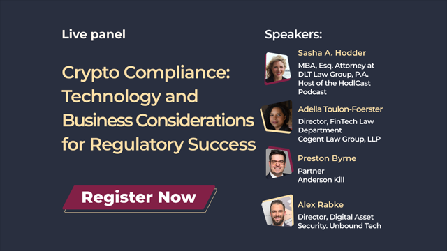 Crypto Compliance: Technology and Business Considerations for Regulatory Success