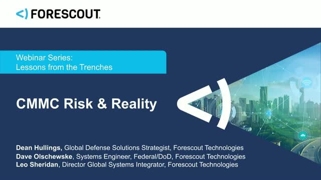 Lessons from the Trenches: CMMC Risk & Reality