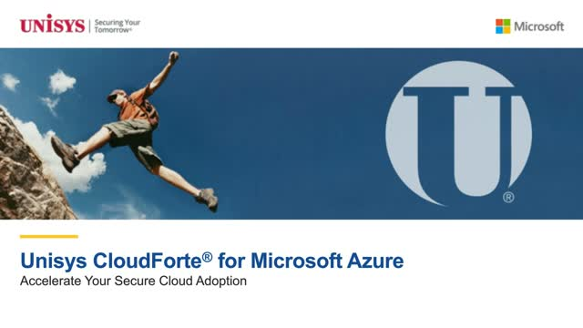 Unisys CloudForte® for Microsoft Azure