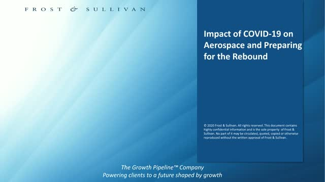 Impact of COVID-19 on Aerospace and Preparing for the Rebound
