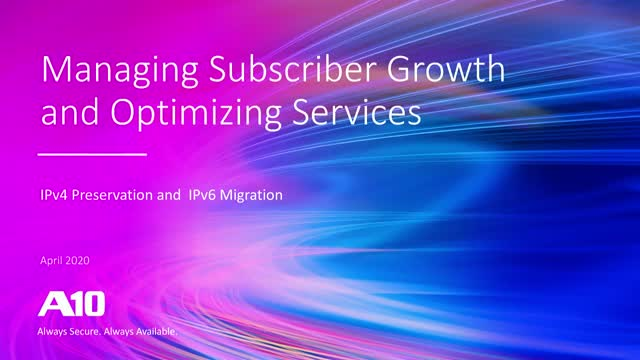 How to Grow Subscribers and Demand with CGNAT Infrastructure