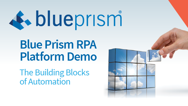 Blue Prism RPA Platform Demo | Intelligent Automation (Ex: Customer Onboarding)