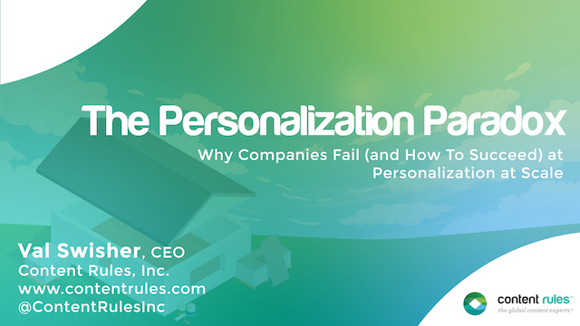 Why Companies Fail (And How You Can Succeed) at Personalization