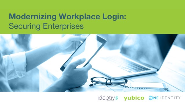 Modernizing Workplace Login: Securing Enterprises