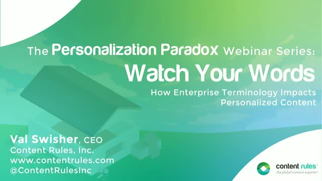 Watch Your Words: The Personalization Paradox #1