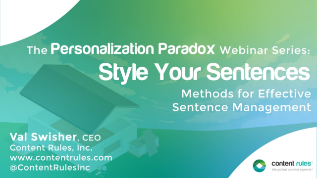 Style Your Sentences: The Personalization Paradox #2