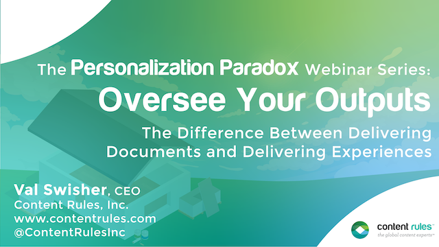Oversee Your Outputs: The Personalization Paradox #5