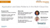 Application and Data Patterns in the the Multi-Cloud Era