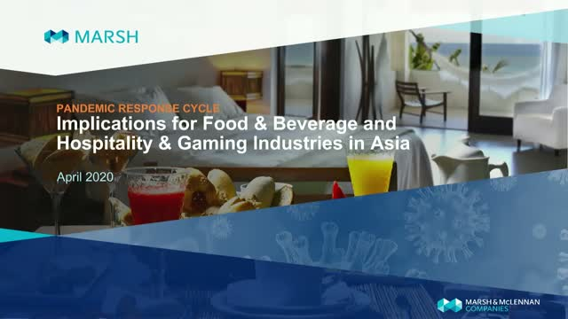 Navigating the Pandemic Cycle for Food & Beverage and Hospitality & Gaming