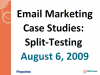 How to Increase Email Response Rates with Split Testing