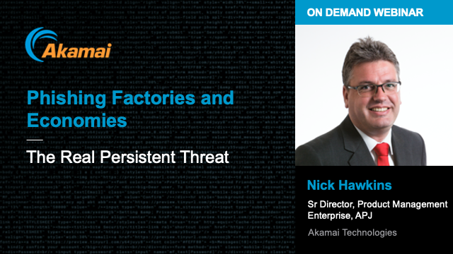 Phishing Factories and Economies: The Real Persistent Threat