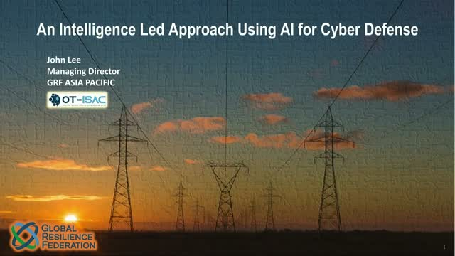 An Intelligence Led Approach Using AI for Cyber Defense