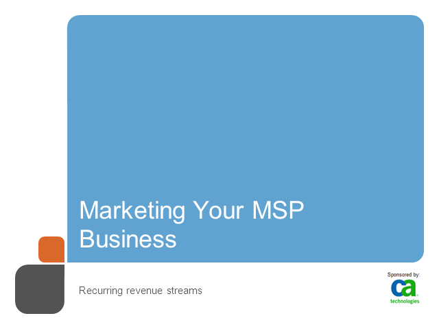 How MSPs Can Build a Revenue Generation Machine