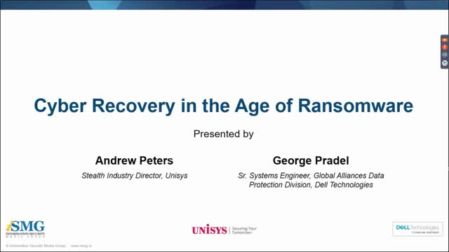 Cyber Recovery in the Age of Ransomware