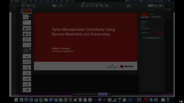 Tame Microservices Complexity Using Service-Mesh/Istio and Kubernetes