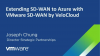 Extending SD-WAN to Azure with VMware SD-WAN by VeloCloud